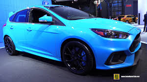 2016 ford focus rs exterior and interior walkaround 2015 new