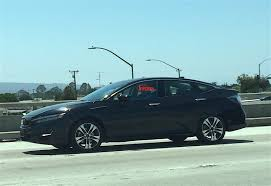 is this the production 2017 honda clarity electric caught in the