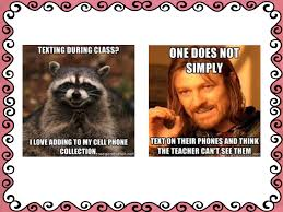 Memes About Texting - 6th grade meme rules