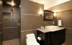 bathroom design idea ideas for tile bathroom designblack brown tile bathroom design