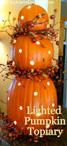 lighted halloween pumpkins pumpkin topiary with lights amanda jane brown