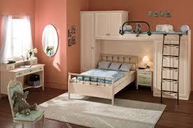 built in bunk beds bedroom gray polished metal loft bunk bed with computer desk