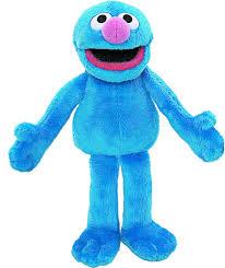 amazon gund sesame street grover finger puppet 6