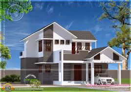 Single Story Flat Roof House Designs Sq Ft Modern Traditional Bhk Home Design Ideasidea