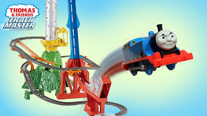 fisher price thomas the train table thomas and friends trackmaster sky high bridge jump fisher price