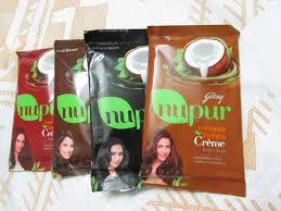 godrej nupur coconut henna crème hair color review