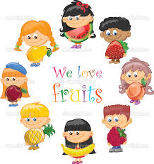 fruits and vegetables cartoon free download clip art free clip