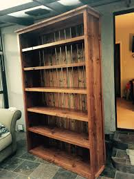 Simple Wood Bookshelf Designs by Rustic Barnyard Bookshelf Ana White Plans Varathane Special
