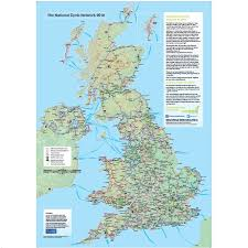 Map Of Wales Wales National Poster Map
