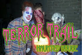 terror trail haunted house and zombie paintball adventure event