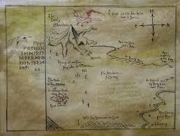 The Hobbit Map Thror U0027s Map By Helevornart On Deviantart