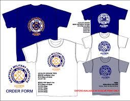 alumni tshirt kmi alumni t shirt forms