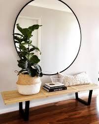 Entryway Mirrors Best 25 Large Round Mirror Ideas On Pinterest Large Hallway