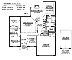 Home Floor Plans 1500 Square Feet 24 Best House Plans Images On Pinterest Ranch House Plans