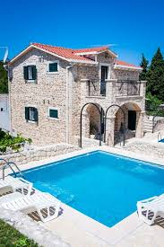 house with pools luxury house with pool homeaway općina slivno