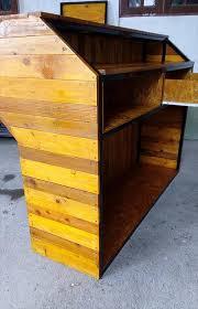 Diy Metal Desk by Diy Pallet Counter Reception Desk 101 Pallets