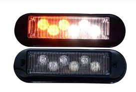 strobe lights for car headlights higher star dc12v 6w led car surface mounting strobe warning lights