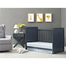 Convertible Cribs Canada by Baby Relax Miles 2 In 1 Convertible Crib Blue Dorel Canada