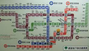 Tokyo Subway Map by Tokyo Metro Yen For Living