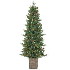 sterling 6 ft pre lit natural cut georgia pine artificial
