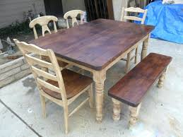 reclaimed wood dining room table toronto sets tables canada