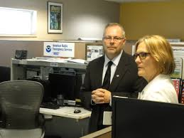 noaa administrator visits nws des moines the weather whisper