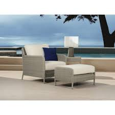 Sunset West Outdoor Furniture Sunset West 3301 21 8353 Manhattan Club Chair With Linen Canvas