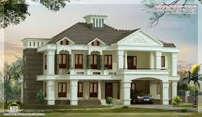 villa house plans style luxury villa design kerala home floor plans home building