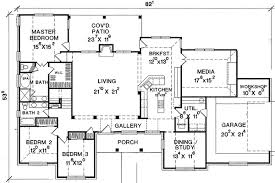 large floor plans large media room 3032d architectural designs house plans