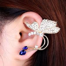 cheap clip on earrings ear clip stud earrings women new fashion jewelry alloy