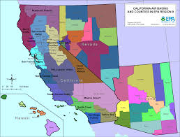 Map Of Arizona And California by California Maps Air Quality Analysis Pacific Southwest Us Epa
