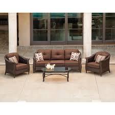 Lazy Boy Patio Furniture Cushions La Z Boy Outdoor 4 Pc Seating Set Lanai Outdoor Decor