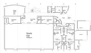 Dance Studio Floor Plans The Sports Centre Godalming College U2013 Macallan Penfold