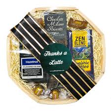 Gift Baskets San Francisco Thanks A Latte Thank You Gift Basket By Giftingtampabay On Etsy