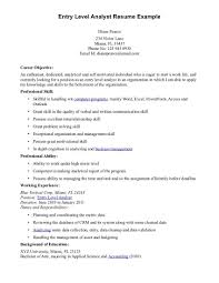 Resume Profile Examples Entry Level by Resume Objective Examples Security Resume Ixiplay Free Resume