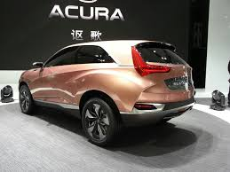 suv acura auto shanghai 2013 live acura suv x concept gets uncovered