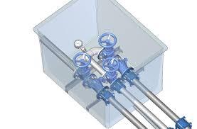 chambre d h e vannes hydraulique chambre à vanne pompaix constructeur de postes de