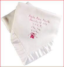 engraved blankets baby 1000 ideas about embroidered baby blankets on makaroka