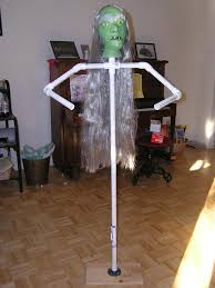 make your own halloween props how to make a stand up dummy for halloween i will be making more