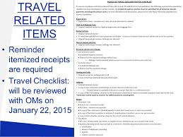 Texas travel checklist images Office manager meeting january 22 budget allocation worksheets jpg