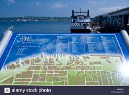 Halifax Canada Map by Canada Nova Scotia Halifax Waterfront Area Map Harbour Queen
