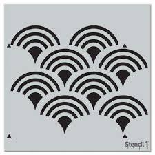 Chandelier Stencils Symbols U0026 Shapes Stencils Craft U0026 Art Supplies The Home Depot