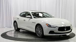 white maserati sedan vehicle details california maserati dealer niello maserati