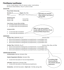 Sample Resume Internship View A Resume Resume For Your Job Application