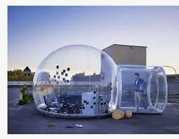 Transparent Tent Inflatable Outdoor Bubble Inflatable Channel Transparent Tent