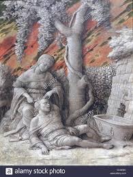 painting titled u0027samson and delilah u0027 by andrea mantegna 1431 1506