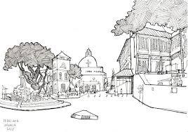christ church in malacca urban sketchers