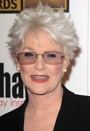 short haircuts for women over 70 who are overweight sharon gless classy celebrity hairstyles for women with gray hair