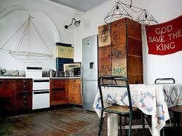 Vintage Looking Kitchen Cabinets Kitchen Winsome Vintage Industrial Style Kitchen Design