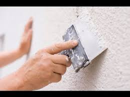 wall putty applying putty on wall youtube